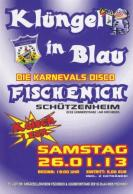 Plakat - Klüngel in Blau 2013