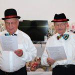 Die Senatoren Josef Außem und Johann Wißkirchen alsCoupletsänger