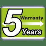 Logo-5-Year-Warranty-Blauberg-NA