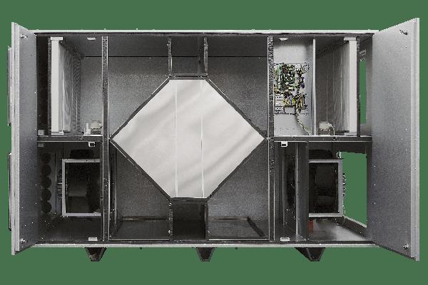 BlauAir Commercial Ventilator Frameless Design