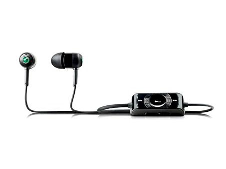 Auriculares Sony Ericsson MH810 Black con control remoto