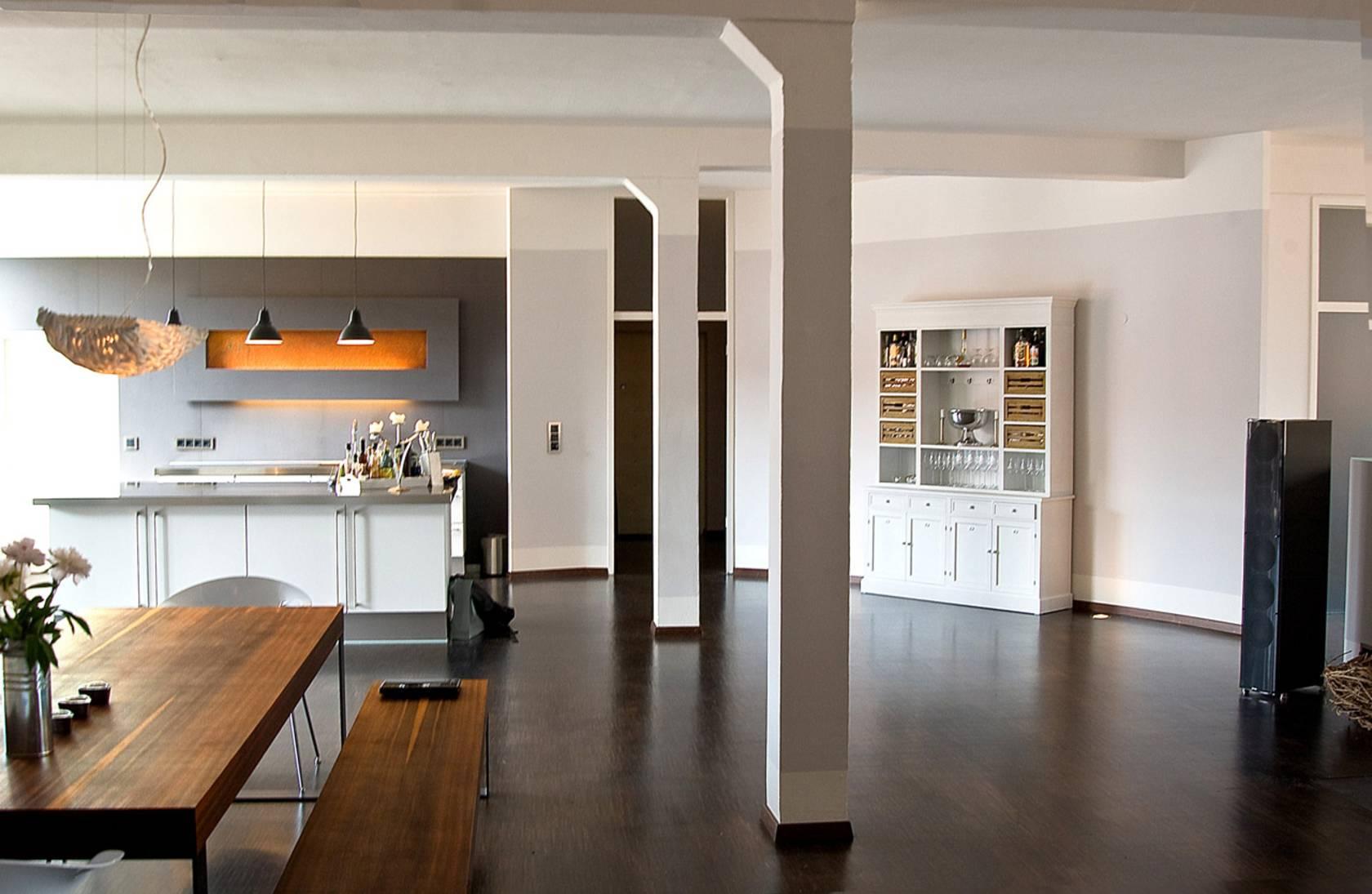 Loft Wohnung Modernisierung eines Gebude in ein modernes