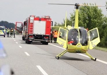 Autofahrerin (57) auf A19 bei Glasewitz verunfallt - Retter mussten Unfallstelle suchen