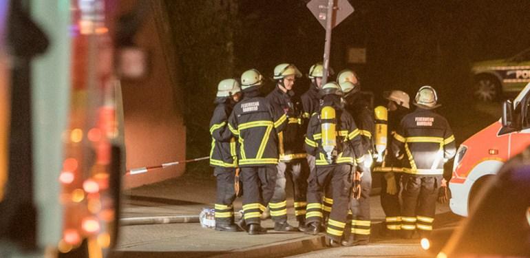 Ausgedehnter Kellerbrand - 10 Personen gerettet!