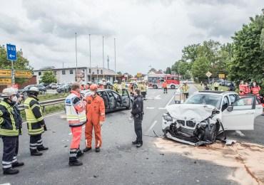 Schwerer Verkehrsunfall in Winsen (Luhe) - 7 Verletzte!
