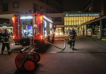 Feuer im Krankenhaus! -Mehrere Personen zum teil schwer verletzt!