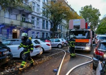 Brennender Geschirrspüler löst Feuerwehreinsatz aus