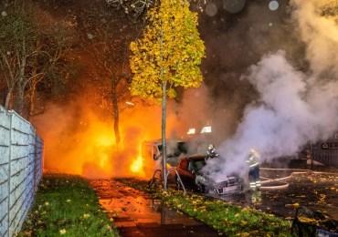 Erneut Brennen PKW in der Wendenstraße - Bereits im Januar schlug dort ein Brandstifter zu