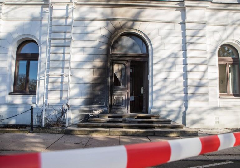 Brandanschlag auf das Rathaus in Altona?