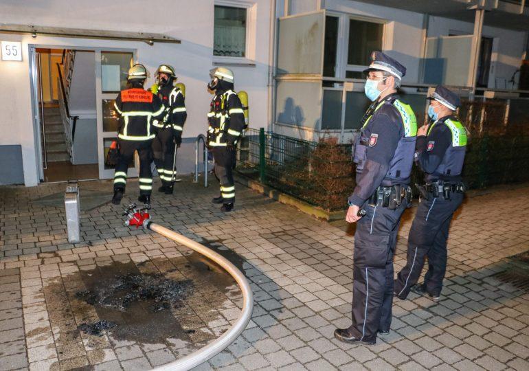 Bettlägerige Frau durch Feuerwehr gerettet!