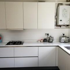 Kitchen Matt Contemporary Art For White Handleless - Ware | Blax Kitchens Ltd