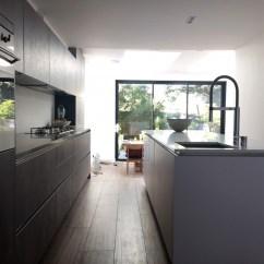 German Made Kitchen Cabinets Cupboard Jamaica Concrete And Polar White - Streatham Hill | Blax Kitchens Ltd