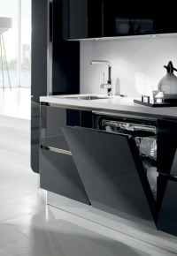 High Gloss Kitchens | White, Cream & Black Kitchen Units ...