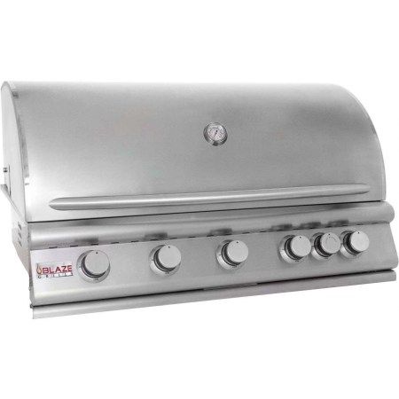 Blaze 40 Inch 5-Burner Gas Grill With Rear Burner