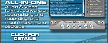 MP3 Software (Converter, Editing, Burner, Ripper All-in-One)