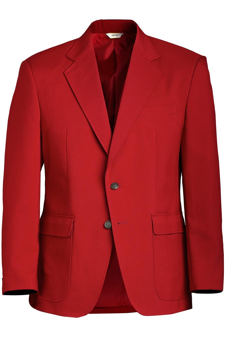 Edwards Mens Uniform Blazer Red from 69