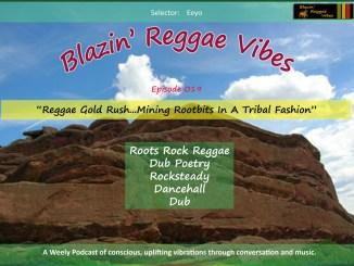 Blazin' Reggae Vibes Ep. 019 Poster