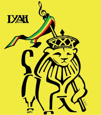 Lion of Judah - Iyah Music Logo