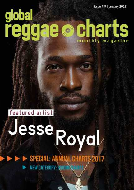Global Reggae Charts Magazine #9 - January 2018
