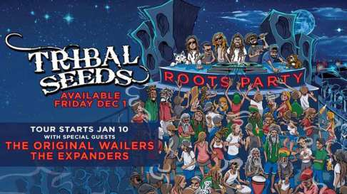 Tribal Seeds w/ The Original Wailers Poster