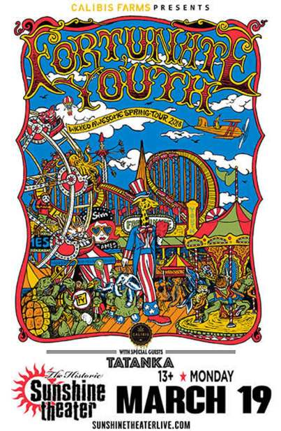 Fortunate Youth Sunshine Poster