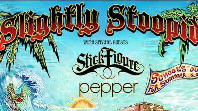 Slightly Stoopid, Stick Figure & Pepper Expo NM Poster
