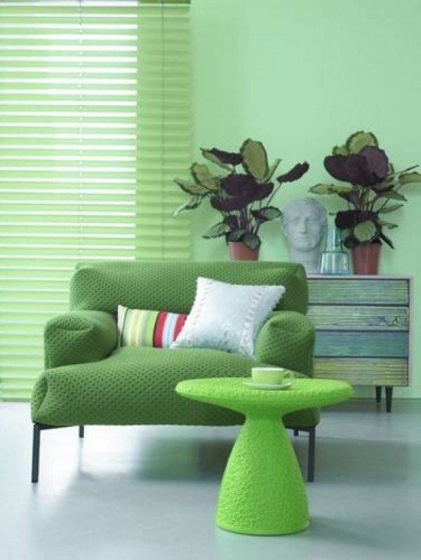 Fresh Green Interior Design Decor  Home Interior Design Ideas