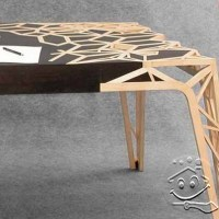 blazzing house: Artistic Wooden Table Design