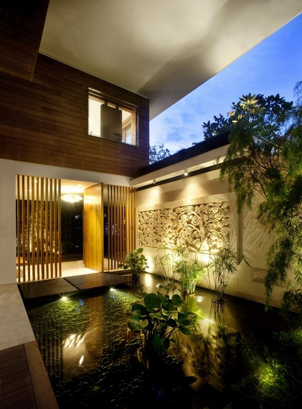 Attractive House Design Concept In Singapore Home Interior