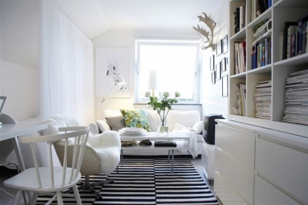 Modern Minimalist Interior Design with Scandinavian style