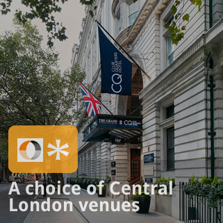 choice of central London venues