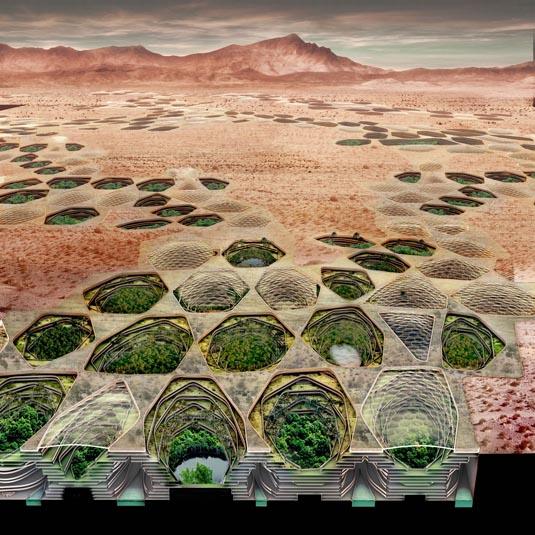 Hexagonal Hydropolis