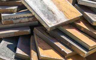 Steel Plate metal recycling service