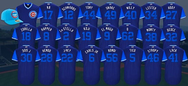 Image result for Players Weekend Cubs