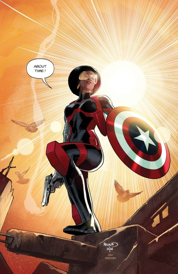 Misty Knight Will Wield The Captain America Shield – But Only Briefly