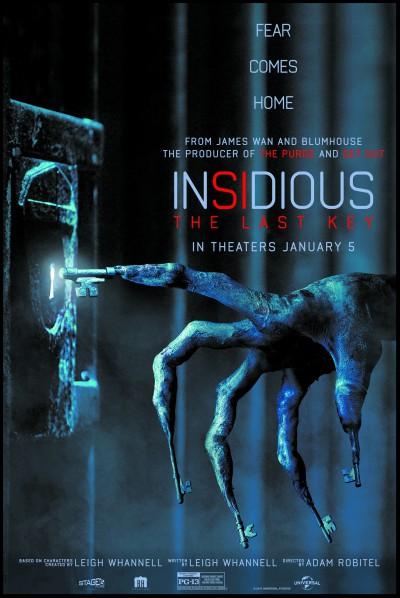 Hasil gambar untuk Insidious 4 – The Last Key POSTER