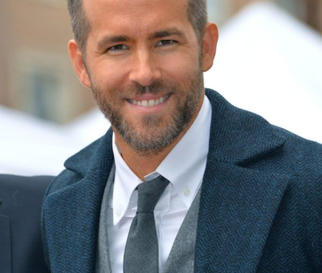 Ryan Reynolds At The Hollywood Walk Of Fame Star Ceremony Honoring Actor Ryan Reynolds Los