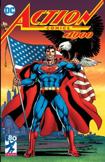 Neal Adams Action Comics #1000 Variant Cover