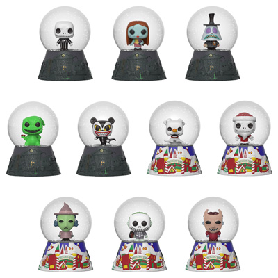 Funko Nightmare Before Christmas Mystery Mini Snow Globes 2
