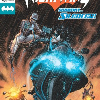 Nightwing #48 cover by Mike Perkins and Dave McCaig
