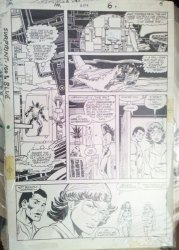Iron Man 204 original art