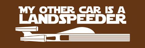 My Other Car is a Landspeeder