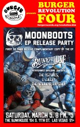 Moonboots EP release party flier