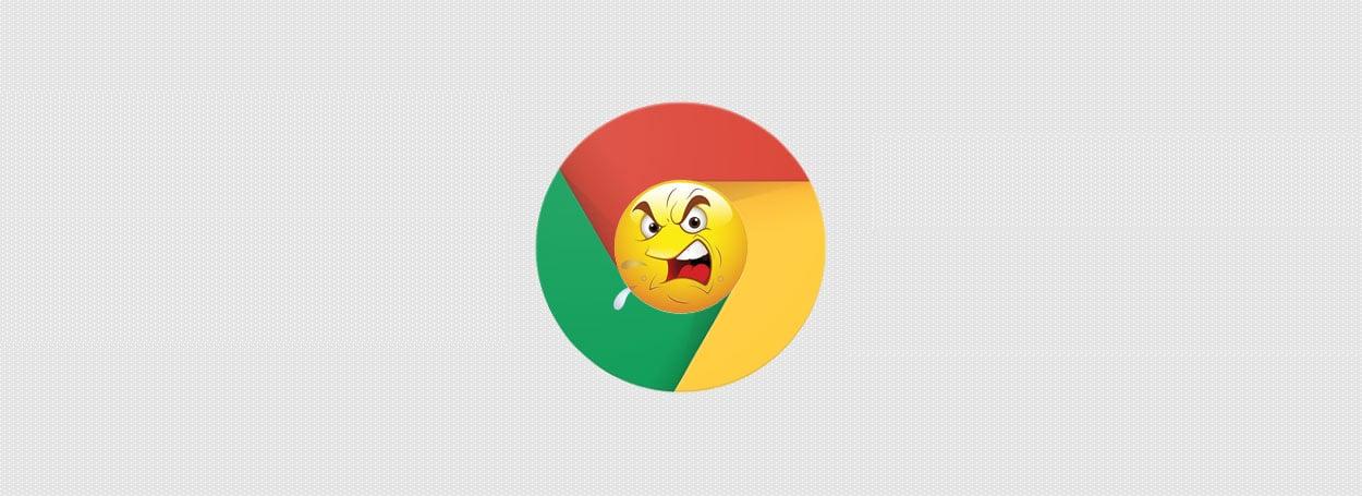 google chrome is losing
