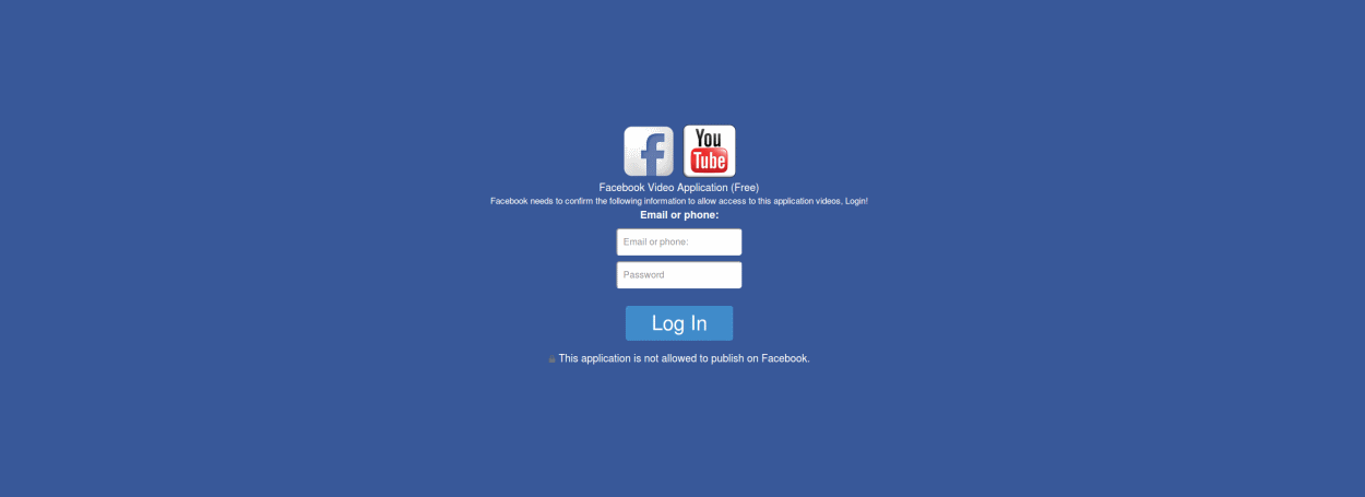 facebook phishing campaign targets