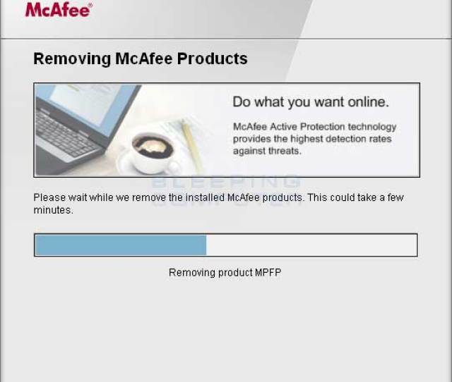 Screenshots For Mcafee Consumer Products Removal Tool