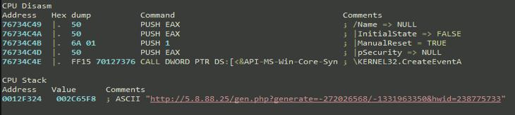 "create_event ""AZORult Trojan"" Serving ""Aurora Ransomware"" by MalActor Oktropys"