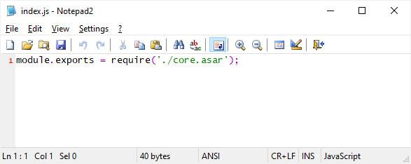 Normaldiscord_desktop_core\index.js file