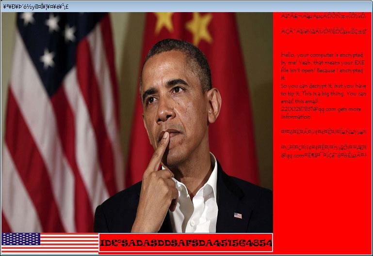 Obama Ransomware