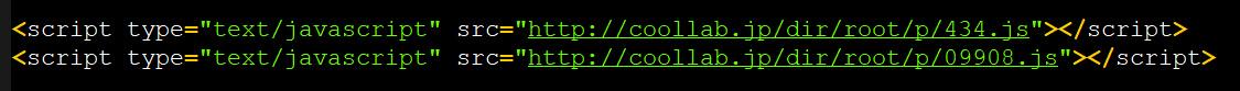 Çözülmüş JavaScript etiketleri